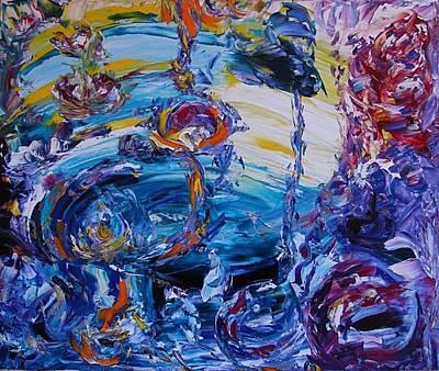 Elton John Painting - El Dorado by Elena Soldatkina