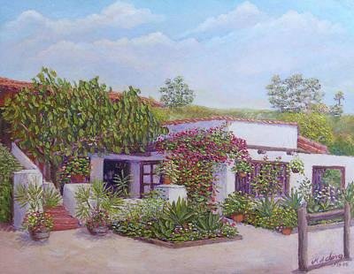 Painting - El Fandango Restaurant by Miguel A Chavez