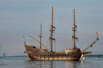 Photograph - El Galeon Andalucia by Ann Bridges