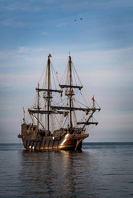 Art Print featuring the photograph El Galeon Andalucia by Dale Kincaid