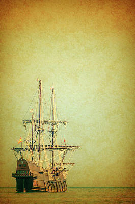 Photograph - El Galeon Andalucia by Stewart Helberg