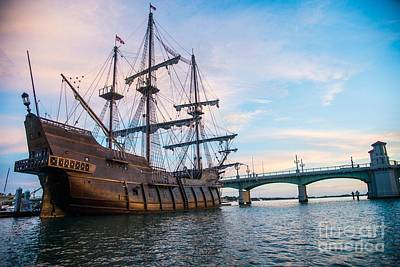 Florida Bridge Photograph - El Galeon by Jim DeLillo