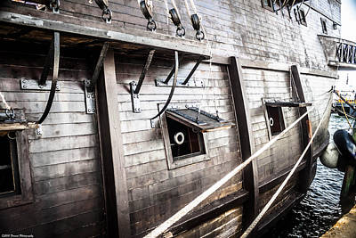 Photograph - El Galeon Port Side 3 by Debra Forand