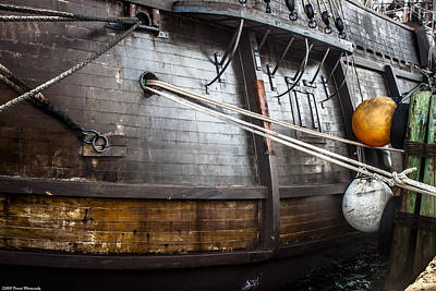 Photograph - El Galeon Port Side by Debra Forand