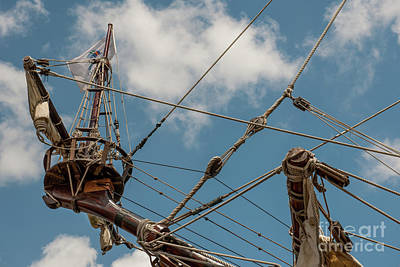 Photograph - El Galleon Crow's Nest by Dale Powell