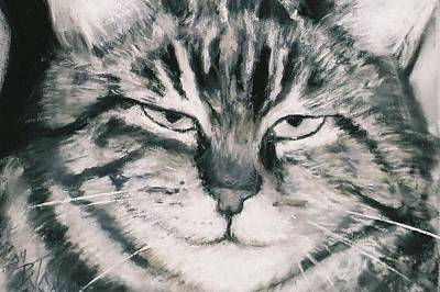 Painting - El Gato by Billie Colson