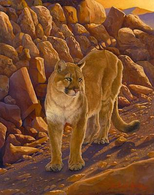 Painting - El Gato by Howard Dubois