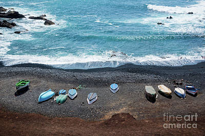 Art Print featuring the photograph El Golfo by Delphimages Photo Creations