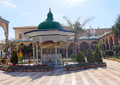 Photograph - El Jazzar Mosque Court by Munir Alawi