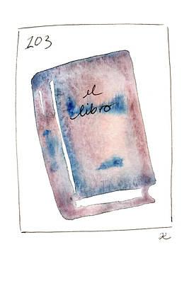Painting - El Libro by Anna Elkins