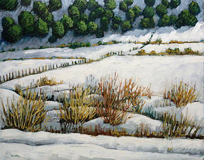 Painting - El Llano by Donna Clair