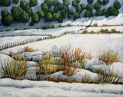 Painting - El Llano by Donna Clair