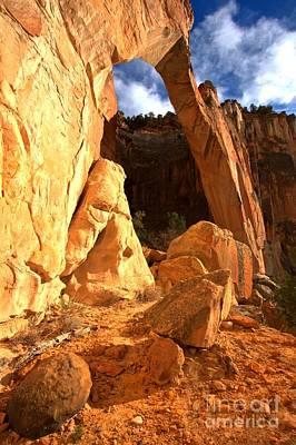 Photograph - El Malpais La Ventana Arch by Adam Jewell