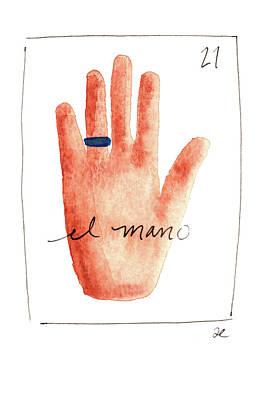 Painting - El Mano by Anna Elkins