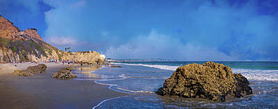 Photograph - El Matador Beach Panorama by Lynn Bauer