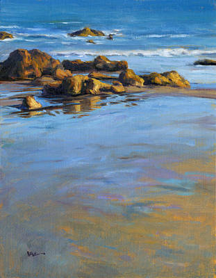 Painting - Pacific Reflections by Konnie Kim