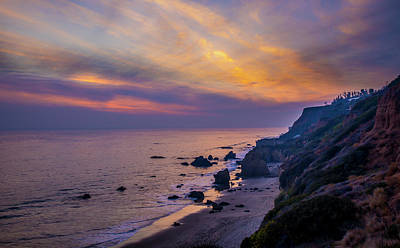 Photograph - El Matador Sunset by Gene Parks