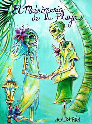 El Matrimonio De La Playa Original by Heather Calderon