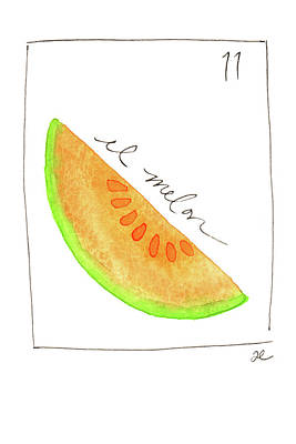 Painting - El Melon by Anna Elkins
