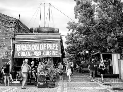 Photograph - El Meson De Pepe Key West by John Rizzuto