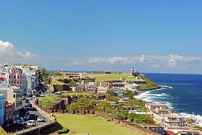 Photograph - El Morro By The Sea by Gary Wonning