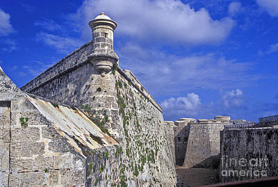 Photograph - El Morro Fortress Havana Cuba, by David Zanzinger