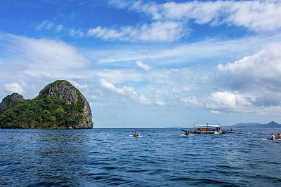 Photograph - El Nido Islands by Mark Perelmuter