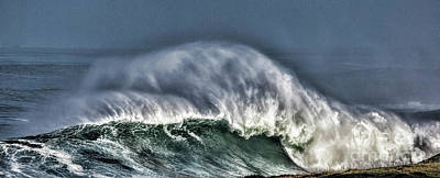 Photograph - El Nino Waves Of Winter by Shirley Mangini