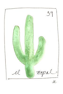 Painting - El Nopal by Anna Elkins