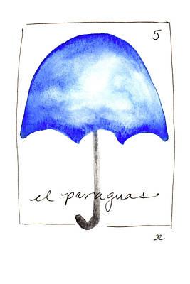 Painting - El Paraguas by Anna Elkins