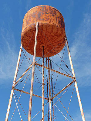 Photograph - El Pinacate Watertower 3 by Jeff Brunton