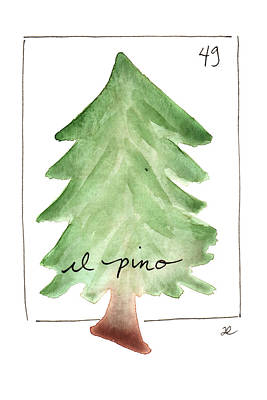 Painting - El Pino by Anna Elkins