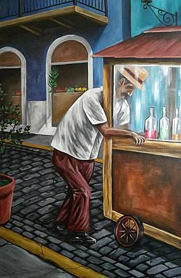 El Piraguero Original by Daniel Quinones