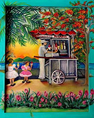 Painting - El Piraguero by Yolanda Rodriguez