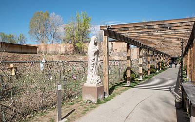 Photograph - El Portal Del Santuario by Tom Cochran