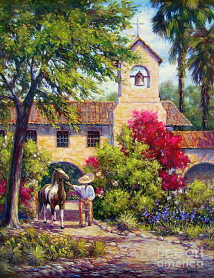 Paint Horse Painting - El Potro by Vickie Fears