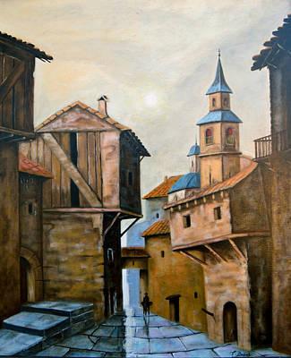 Painting - El Pueblo by Tony Banos