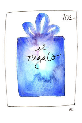 Painting - El Regalo by Anna Elkins