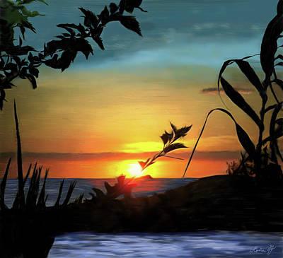 Holi Painting - El Rio Pitillal by Lola VJ