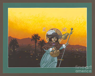 Painting - El Santo Nino De Arizona 169 by William Hart McNichols