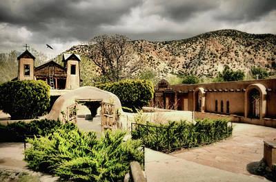 Photograph - El Santuario De Chimaya Chapel by Diana Angstadt
