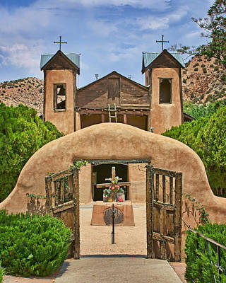 El Santuario De Chimayo #2 Art Print by Nikolyn McDonald