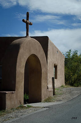 Photograph - El Santuario De Chimayo Arch by David Gordon