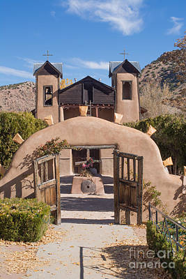 El Santuario De Chimayo Church Art Print