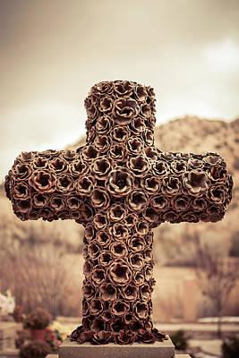 Photograph - El Santuario De Chimayo Cross by Yvette Van Teeffelen