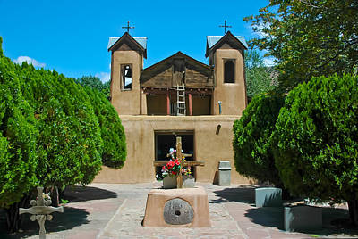 Photograph - El Santuario De Chimayo by Ginger Wakem