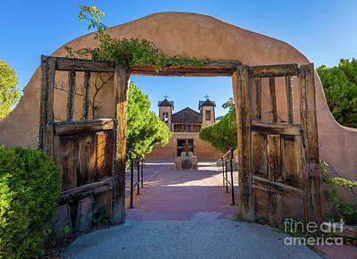 Photograph - El Santuario De Chimayo by Inge Johnsson