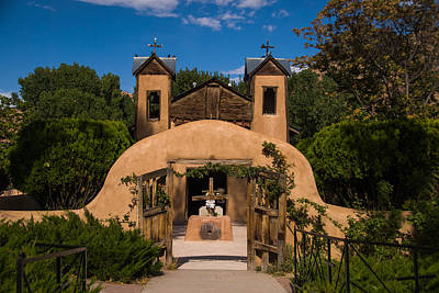 Photograph - El Santuario De Chimayo by Joye Ardyn Durham