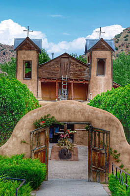 Photograph - El Santuario De Chimayo - New Mexico by Debra Martz