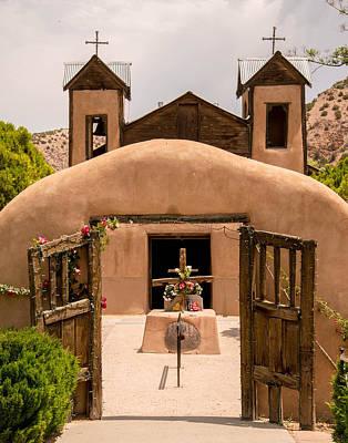 Photograph - El Santuario De Chimayo by Robert Brusca
